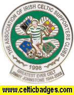 AICSC Jimmy Johnstone Greatest Ever Celt No 642