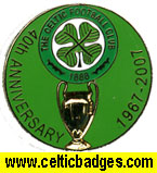 40th Anniversary of Lisbon badge