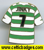 Jimmy Johnstone badge