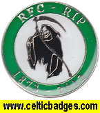 RFC RIP 1873 - 2012 street vendor badge